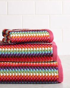 """Caro Home """"Acapulco"""" 3pc Towel Set https://www.ruelala.com/boutique/80374/"""