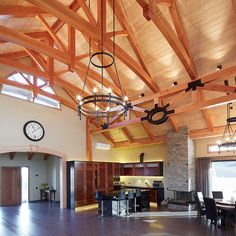 New Zealand's leading timberframe company specialising in post and beam design and construction | Timberworks