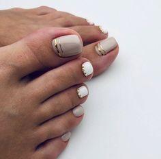 Nail Colors For Pale Skin, Toe Nail Color, Toe Nail Art, Beach Toe Nails, Summer Toe Nails, Summer Pedicures, Toe Nail Designs, Nail Polish Designs, Simple Toe Nails