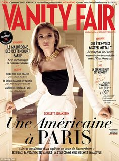 Premiere: Scarlett Johansson is the first cover star for the new French Vanity Fair magazine