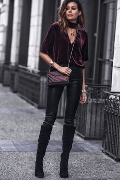Edging Up Shimmer | FASHIONED|CHIC Hipster Outfits, Preppy Outfits, Fashion Outfits, Fashion Trends, Rock Chic Outfits, Super Moda, Moda Hippie, Types Of Handbags, Latest Fashion For Women