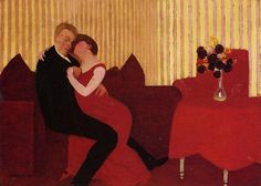 Felix-Vallotton-The-Lie.JPG (978×700)