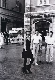 By Peter Lindbergh in 1994 featuring Kate Moss.