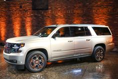 The all-new 2015 Chevrolet Suburban represents the 80th anniversary and 12th generation of the original SUV. Suburban continues to offer legendary roominess, unmatched functionality, connectivity and first-class amenities.