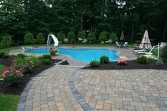 View our Lagoon Inground Pool Gallery. Juliano& Pools can help you with your pool project, we serve Western Massachusetts, Connecticut, and Rhode Island Pool Pavers, Lagoon Pool, Rhode Island, Connecticut, Massachusetts, Pools, Patio, Gallery, Outdoor Decor