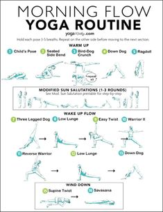 Check out this quick and simple 10 minute morning yoga routine you can practice everyday to wake up and start your day right! 10 Minute Morning Yoga, Morning Yoga Flow, Wake Up Yoga, Morning Yoga Routine, Morning Yoga Workouts, Morning Yoga Stretches, Morning Morning, Fitness Workouts, Yoga Fitness