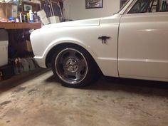 20x9 Rally Wheel. American Racing Wheels