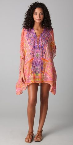 honey moon packing list- caftan that can easily transition to dress