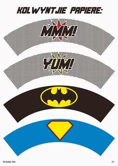 Super Heroes Free Printable Mini Kit.
