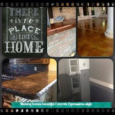 Beautify your home with Concrete Expressions style with stunningly unique concrete countertops and elegant low maintenance acid stained concrete floors. We're running a 20% special to make it even easier to add beauty to your home. Give us a call at 806-341-5740 to set up your home's beautiful transformation. Have a blessed day.