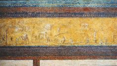yellow frieze, house of livia