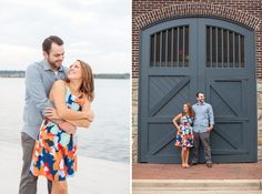Old Town Alexandria Engagement Session by Limefish Studio | Virginia Wedding Photographer