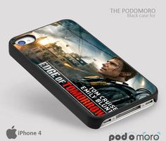 Edge of Tomorow for iPhone 4/4S, iPhone 5/5S, iPhone 5c, iPhone 6, iPhone 6 Plus, iPod 4, iPod 5, Samsung Galaxy S3, Galaxy S4, Galaxy S5, Galaxy S6, Samsung Galaxy Note 3, Galaxy Note 4, Phone Case