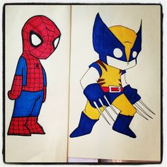 A better version of Wolverine and also Spidey