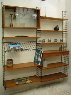 50's Swedish Wall Unit  Mid Century Modern by dejavulongbeach, $1950.00