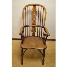 Set van zes Windsor stoelen