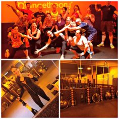Orangetheory workshop fun - http://aladygoeswest.com/2015/06/01/work-play-eats-and-my-weekly-workout-recap/