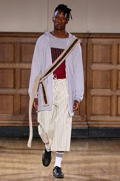 ALC Menswear AW18 • Look 5 Shoes: Converse One Star • Photo: SDR Photo Garments available to source on request • #ALCman #amandalairdcherry #SAMW #avantegarde #ratedonestar