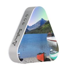 Two Medicine lake Glacier National Park Montana Bluetooth Speaker