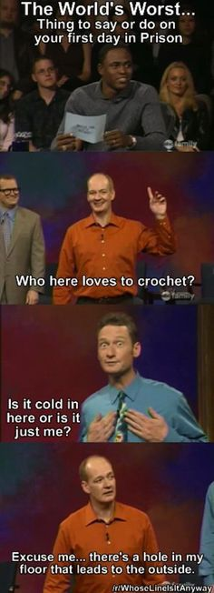 A throwback to some of the most memorable moments from Whose Line Is It Anyway (30 Photos)