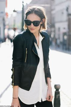 the biker jacket | fall style ideas