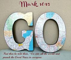 "Mark 16:15 And then he told them, ""Go into all the world and preach the Good News to everyone."