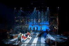 RENT!  NC State University Theatre. Scenic design by Jayme Mellema