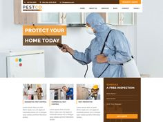 Pestco – Pest Control Free HTML Template is a clean and modern template. This template comes with necessary features for your online presence like projects, blog, testimonial and team page etc. Pestco can be a great choice for your online presence. Impress your potential clients with this template design!
