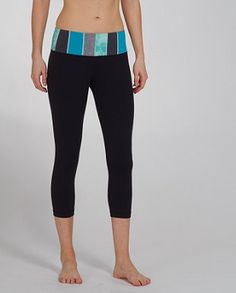 """Lululemon """"Wunder Under"""" Crop.  In my opinion, these bad boys are the most comfortable yoga bottoms"""