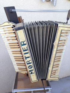 Mortier - France? Double Piano keyboard (1920s/30s)
