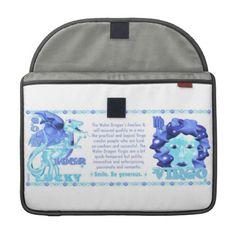 Valxart 2012 2072 1952 WaterDragon zodiac Virgo MacBook Pro Sleeve