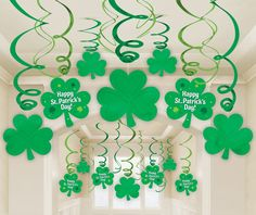 Happy St. Patrick's Day Hanging Decorations
