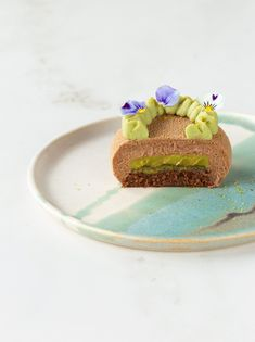 Piccole mousse cioccolato e pistacchio - In Love With Cake