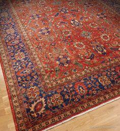 Ferahan Turkmen, stor vacker och kopparfärgad | Arhan Orientaliska Mattor