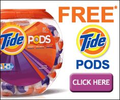 Get Free Tide Pods Laundry Samples http://freesamples.us/get-free ...