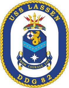USS Lassen DDG-82 Crest
