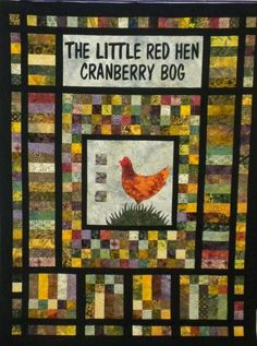 Mad About Quilts: Photo Gallery: Little Red Hen Cranberry Bog Quilt