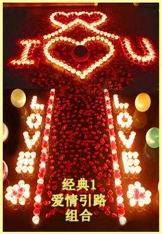 Birthday idea Romantic Surprise, Romantic Proposal, Romantic Night, Romantic Dates, Romantic Dinners, Romantic Room Decoration, Romantic Themes, Simple Birthday Decorations, Valentine Decorations