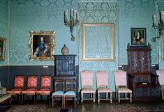 The frame marking its empty spot on the wall of the Isabella Stewart Gardner Museum in Boston where ... - Keith Meyers/The New York Times