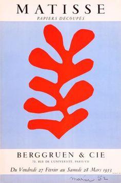 Papiers Découpés, by Henri Matisse
