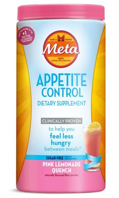 Meta Appetite Control is a tasty fiber  supplement from the makers of Metamucil. Add it to cold drinks to make a delicious beverage that helps you stay in control when temptation strikes. #ad #MetaSnackID