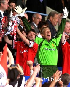 Roy Keane, FA Cup Final, May 22 1999 Manchester United Fa Cup, Roy Keane, Sir Alex Ferguson, Premier League Champions, Fa Cup Final, Red Army, Europa League, Man United, Legends
