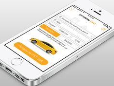 App Cityman Taxi by tolik_designer