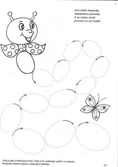 Shapes Worksheets, Tracing Worksheets, Preschool Worksheets, Preschool Activities, Butterfly Dragon, Collage Frames, Pre School, Fine Motor, Projects For Kids