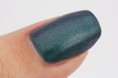 Barry M Silk Nail Paint in Forest Swatch