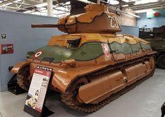 French Char S35 Somua 1936-44 Tank Museum Bovington