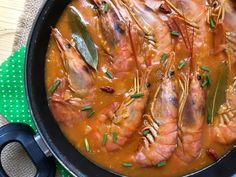 Gambones en salsa marinera - Atıştırmalıklar - Las recetas más prácticas y fáciles Spanish Kitchen, Spanish Food, Spanish Recipes, Tapas Recipes, Fish Recipes, Sauce Tartare, My Favorite Food, Favorite Recipes, Scampi