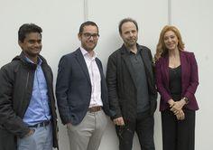 29/05/16. Presentación del libro Ella y él de Marc Levy, con la presencia del autor y Teresa Viejo. Foto © Jorge Aparicio/ FLM16