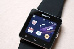The SW2 supports notifications from Google's Gmail app, as well as SMS, Twitter, and Faceb... Smartwatch, Sony, Samsung Galaxy, App, Twitter, Smart Watch, Apps