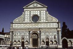 Leon Battista Alberti - Santa Mária Novella (1456-1470)